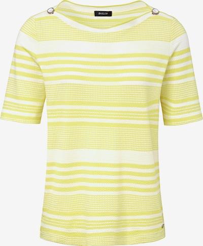 Basler Shirt in gelbmeliert / weiß, Produktansicht