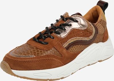 PS Poelman Sneaker '13POE' in cognac, Produktansicht