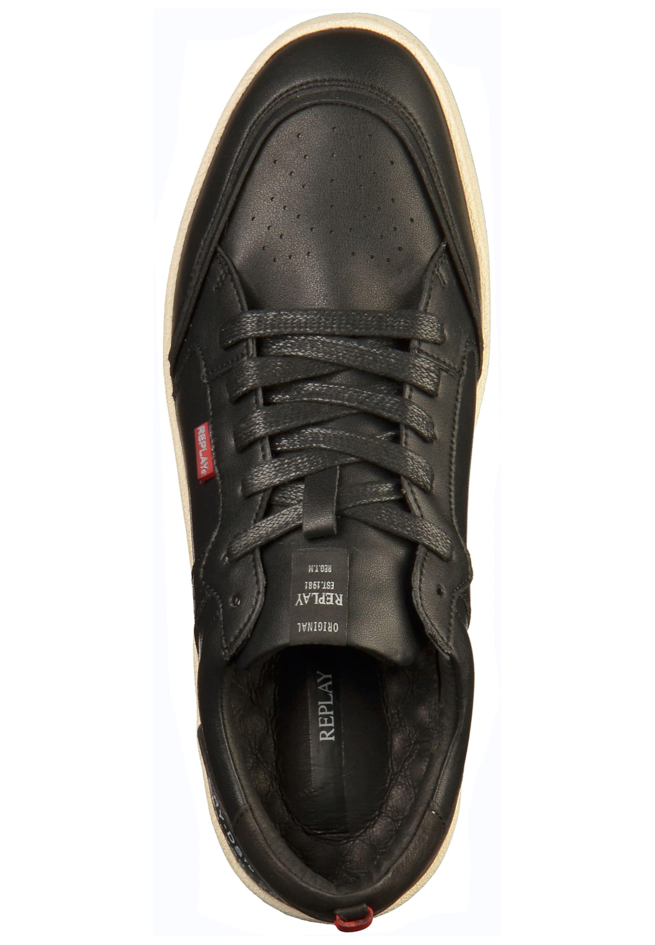 Replay Schwarz Schwarz In In Schwarz Sneaker Sneaker In Replay Replay Sneaker Replay Sneaker roxdBCe