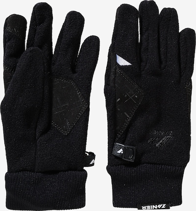 Zanier Fingerhandschuhe 'Comfort' in schwarz, Produktansicht
