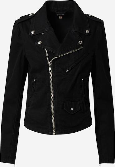 Schott NYC Jacke 'Blouson Perfecto Denim Sans Cceintur' in schwarz, Produktansicht