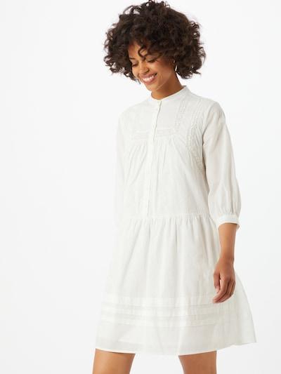 PIECES Blusenkleid in weiß, Modelansicht