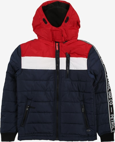 Petrol Industries Jacke in navy / rot, Produktansicht