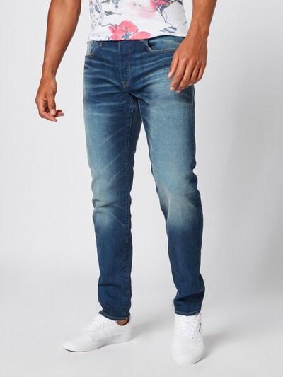 G-Star RAW Jeans '3301' in de kleur Blauw denim, Modelweergave