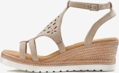 LASCANA Sandalette in beige, Produktansicht