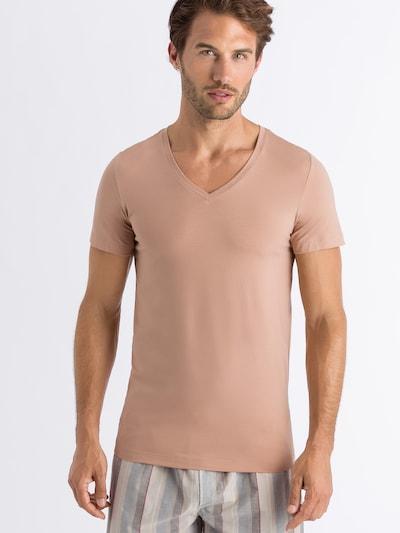 Hanro T-Shirt in beige, Modelansicht