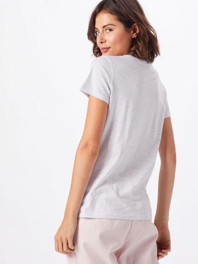 Iriedaily T-shirt 'It Birdy' en mélange de couleurs / blanc chiné: Vue de dos