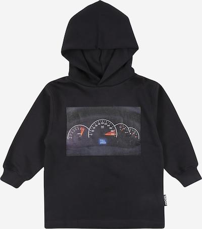 Molo Sweatshirt 'More' in blau / schwarz, Produktansicht