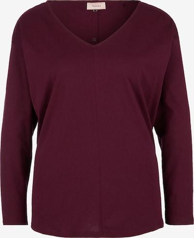 TRIANGLE Shirt in blutrot, Produktansicht