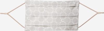 Mască de stofă 'COVER UP' CODELLO pe gri / alb: Privire frontală