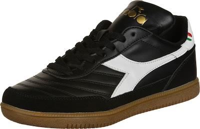 Diadora Schuhe 'Gold Indoor' in gold / schwarz / weiß, Produktansicht