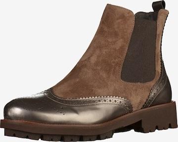 GADEA Chelsea Boots in Brown