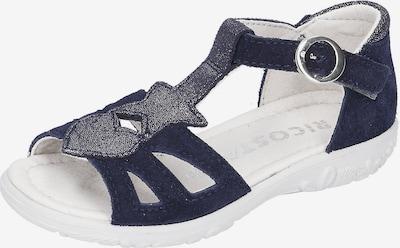 RICOSTA Sandalen PIPPA , Weite M, in blau / silber, Produktansicht