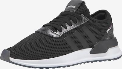 ADIDAS ORIGINALS Sneaker 'U Path' in schwarz / weiß: Frontalansicht