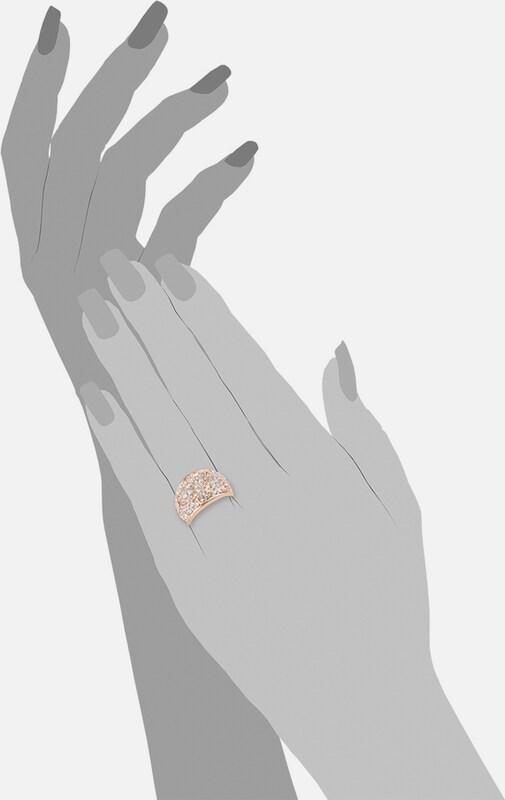 s.Oliver RED LABEL Ring mit Swarovski® Kristallen