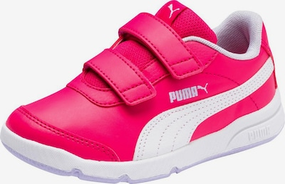 PUMA Sneaker 'Steppflex' in fuchsia / weiß: Frontalansicht