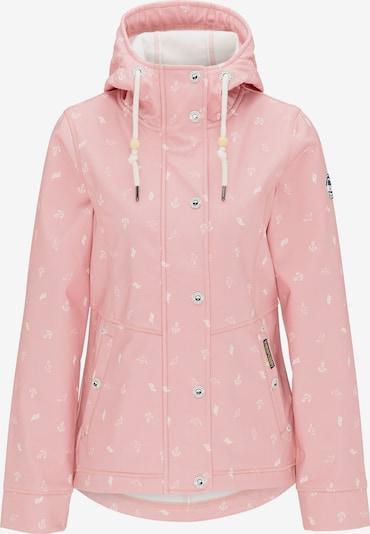 Schmuddelwedda Anorak in pink / weiß, Produktansicht
