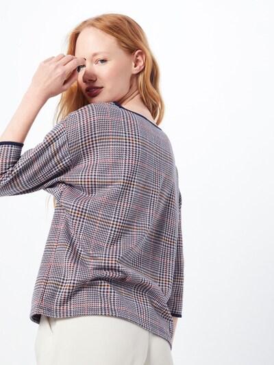 MORE & MORE Shirt in mischfarben / offwhite: Rückansicht