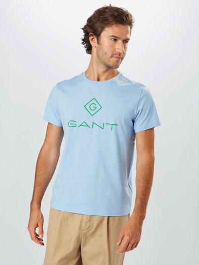 GANT Shirt in hellblau / grün: Frontalansicht