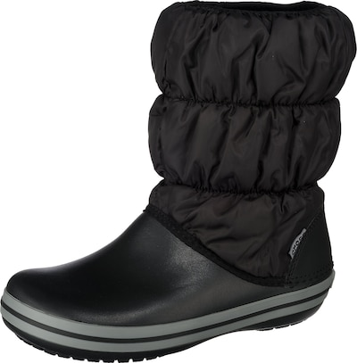 Crocs Winter Puff Stiefel in schwarz, Produktansicht
