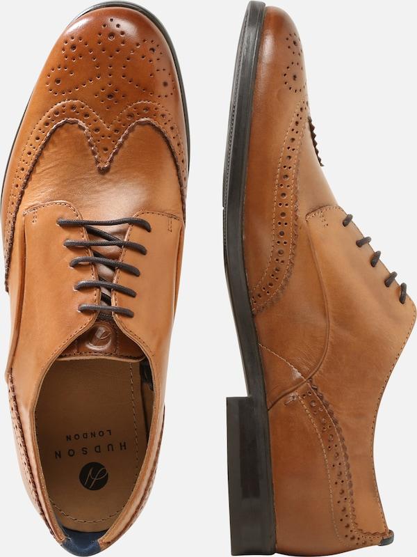 Hudson À 'indus Calf' Marron Chaussure En London Lacets D29YEIWH