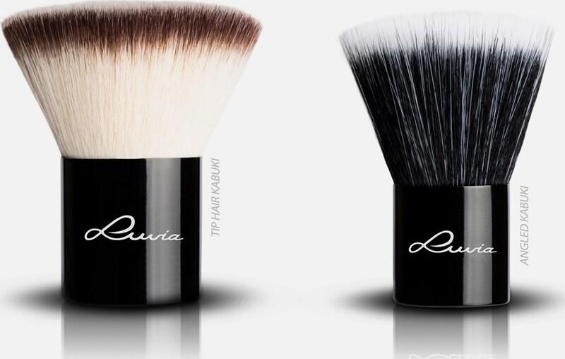 Luvia Cosmetics 'La Nuit Kabuki', Kosmetikpinsel-Set