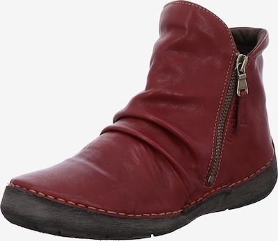 JOSEF SEIBEL Stiefelette 'Fergey 24' in rubinrot, Produktansicht