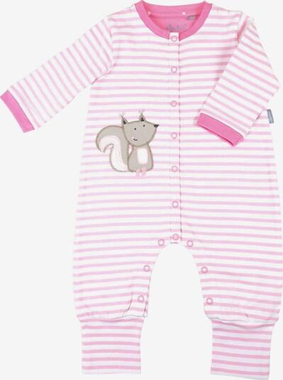 SIGIKID Schlafanzug in pink / rosa / weiß, Produktansicht