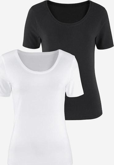 VIVANCE Koszulka w kolorze czarny / białym, Podgląd produktu