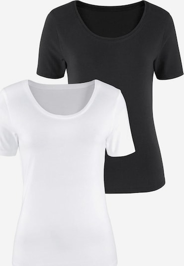 VIVANCE T-shirt i svart / vit, Produktvy