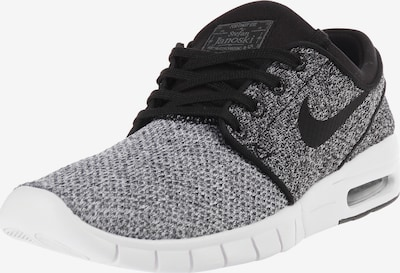 Nike SB Sneaker 'Stefan Janoski Max' in schwarzmeliert / weiß, Produktansicht