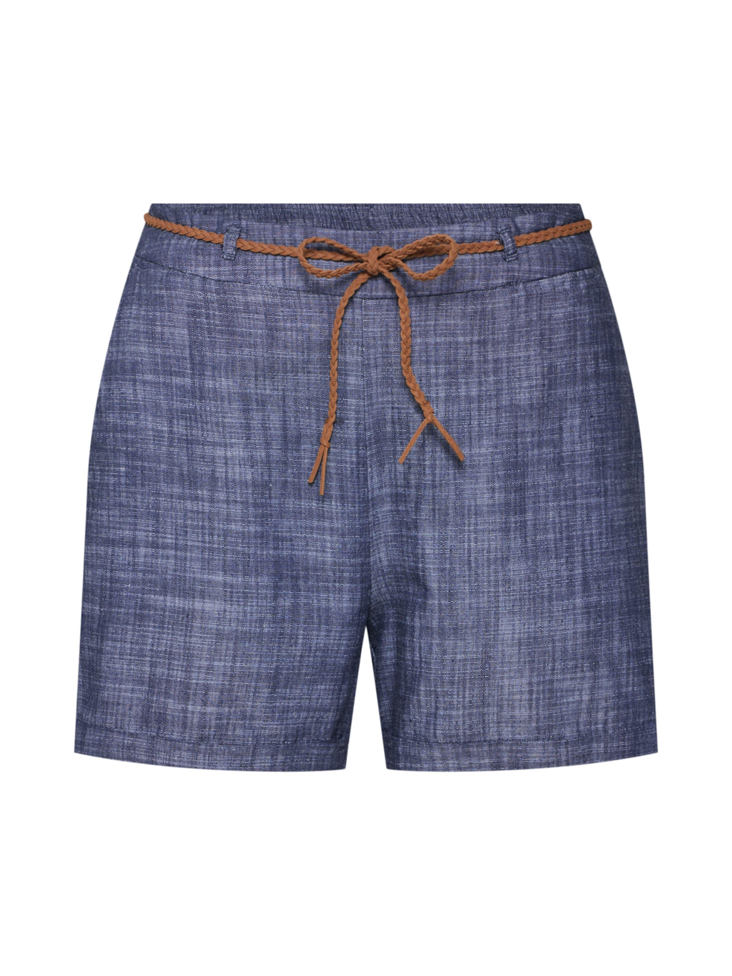 Belt Bleu Jacqueline De Yong En Marine Shorts' 'lucky Pantalon dBxoerC