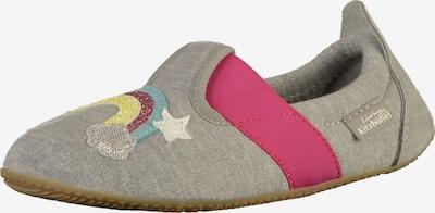 Living Kitzbühel Huisschoenen in de kleur Lichtgrijs / Pink, Productweergave