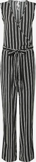 Hailys Overall 'Zitta' in schwarz / weiß, Produktansicht