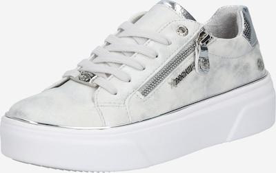 Dockers by Gerli Sneakers laag in de kleur Lichtgrijs / Wit, Productweergave