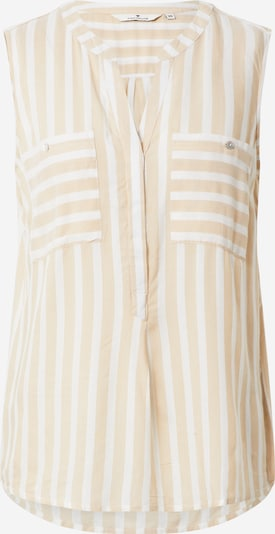 TOM TAILOR Blouse in de kleur Beige / Offwhite, Productweergave