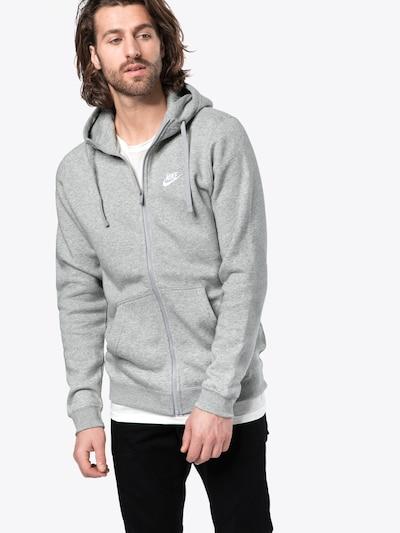 Nike Sportswear Sweatshirt in grau: Frontalansicht