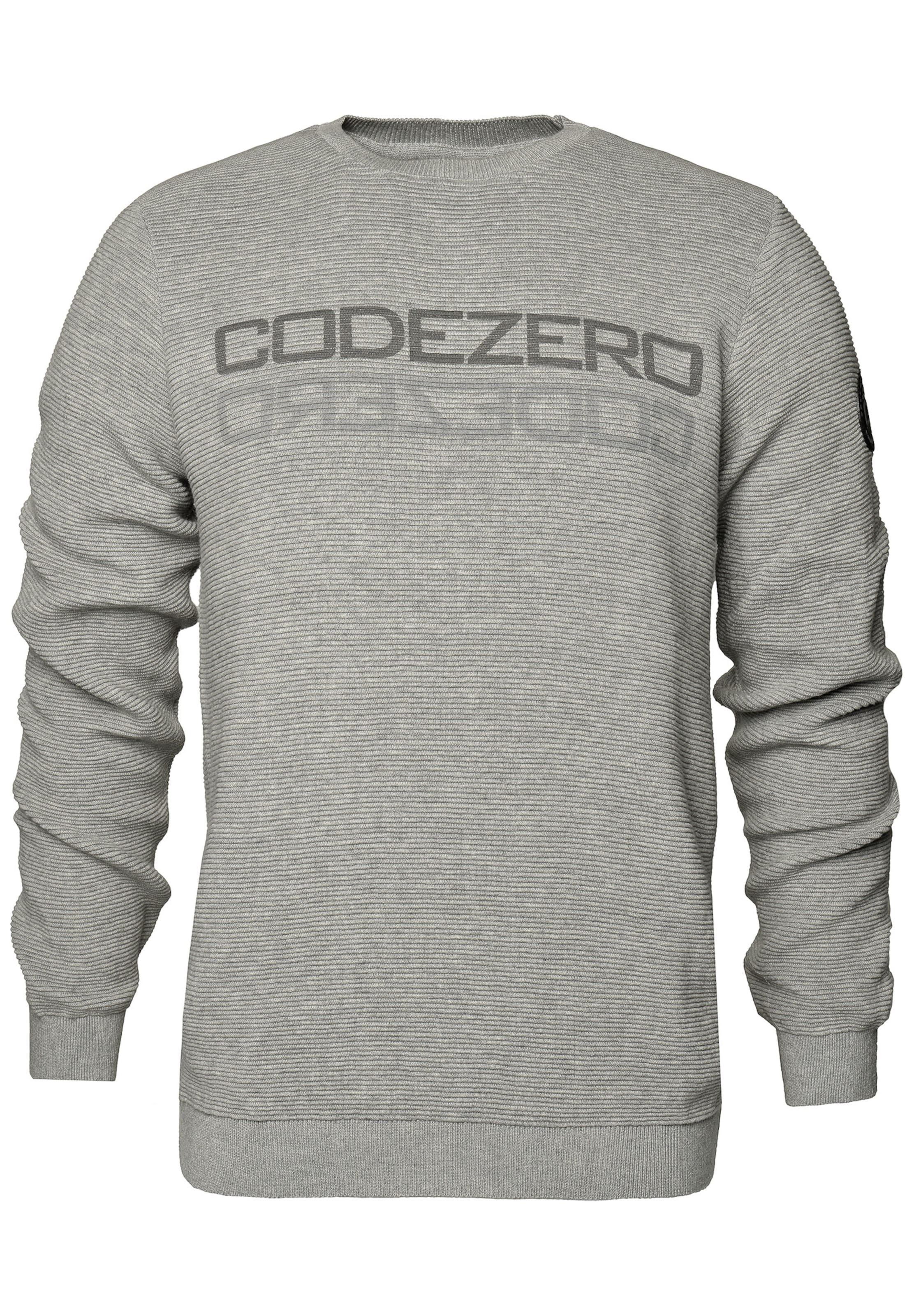 In 'wave' Sweater GrauDunkelgrau Code zero qMSzVUp