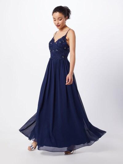 Vakarinė suknelė 'LACE STRINGS' iš mascara , spalva - tamsiai mėlyna: Vaizdas iš priekio