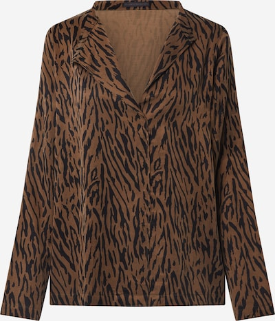 DRYKORN Blusa 'Limilia' en marrón / negro, Vista del producto