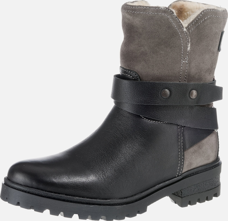 Tommy Jeans Boots in taupe / schwarz, Produktansicht