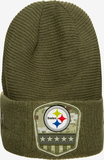 NEW ERA Muts 'NFL Pittsburgh Steelers' in de kleur Kaki, Productweergave