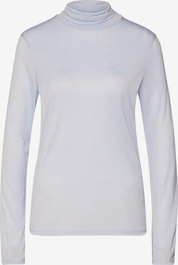 Filippa K Shirt 'Tencel Polo Neck Top' in de kleur Lichtblauw, Productweergave