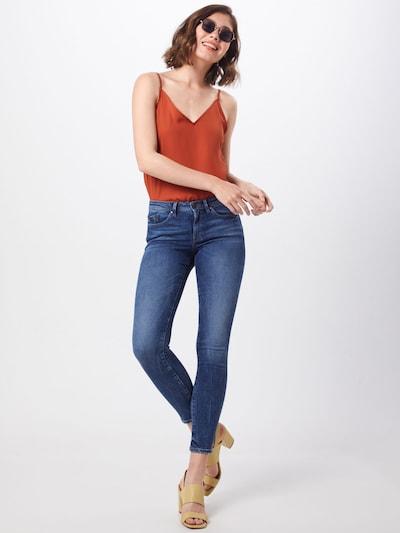 Jeans EDC BY ESPRIT pe denim albastru: Privire frontală