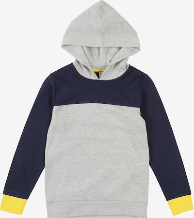 ESPRIT Sweatshirt in dunkelblau / limone / graumeliert / weiß, Produktansicht