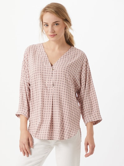 Esprit Collection Bluse in rot / offwhite, Modelansicht