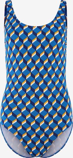 Tweka Badeanzug in blau / dunkelblau / gelb / weiß, Produktansicht