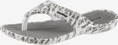 FASHY Zehentrenner in grau / schlammfarben / weiß, Produktansicht