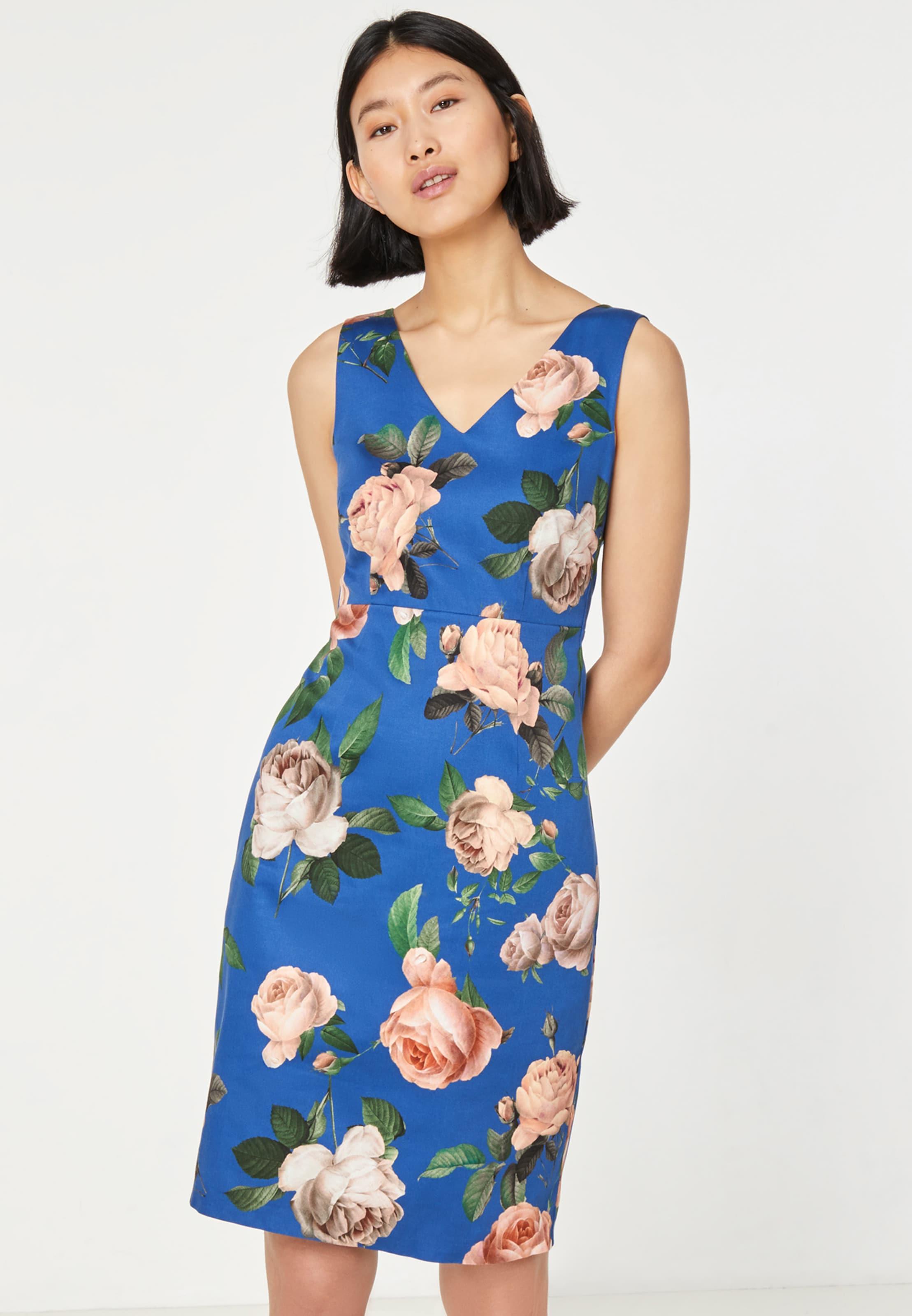 Hallhuber Kleid In BlauMischfarben BlauMischfarben Kleid Hallhuber In Kleid Hallhuber KuF1J3Tcl