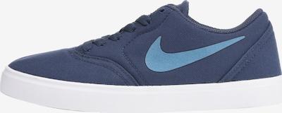 Nike SB Sneaker 'Check Canvas' in blau, Produktansicht